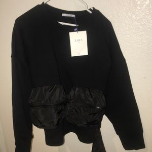 New with tags! Zara sweater with bags attached